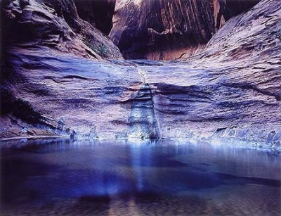 Pool in Mystery Canyon, Lake Powell, Utah, 1964. <em>Photo by Eliot Porter</em>