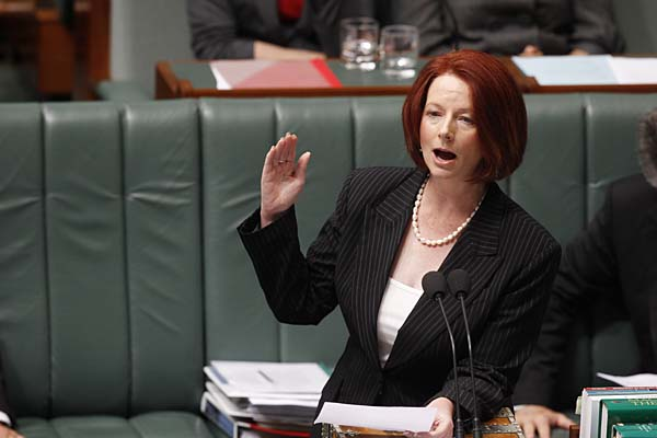 Julia Gillard MP, Prime Minister of Australia