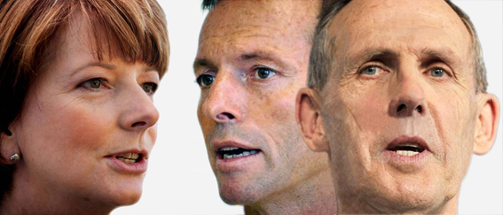 The Greens lead the pack on climate policy in an election debate where leadership and direction are notably absent.