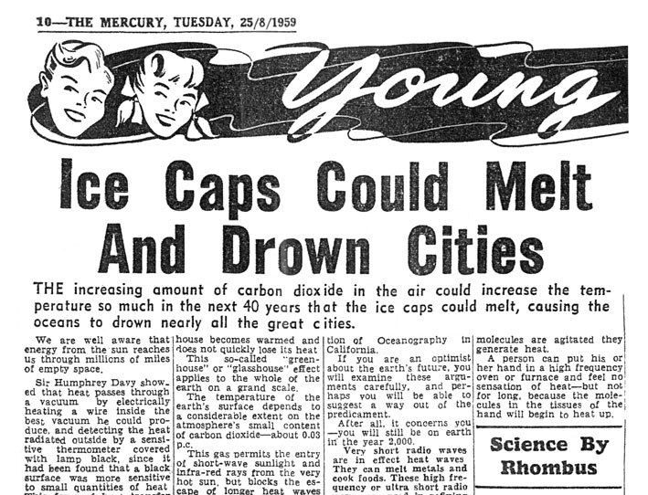 "A 19959 ""Mercury"" article by Hobart science teacher Murray Yaxley (""Rhombus"")"