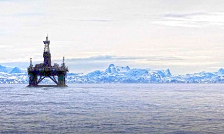 The insurance industry is openly questioning the environmental risks associated with Arctic Ocean drilling. PHOTO GUARDIAN NEWSPAPER