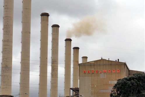 Hazelwood Power Station in  Victoria's Latrobe Valley. PHOTO ABC