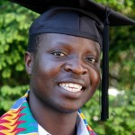 William Kamkwamba on his graduation as an engineer