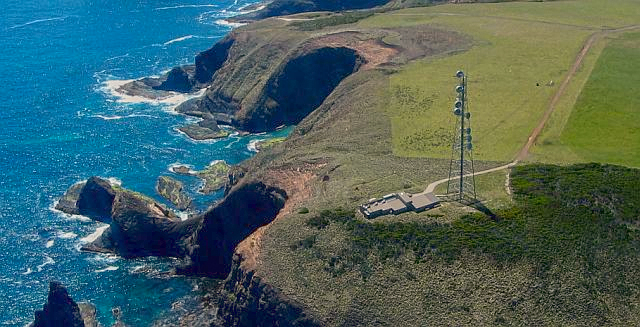 The air monitoring station at Cape Grim, on the far north-western tip of Tasmania