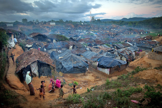 Unregistered Rohingya refugees in Thailand. PHOTO Jonathan Saruk