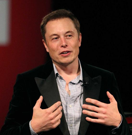 The surprising Elon Musk. PHOTO www.technobuffalo.com