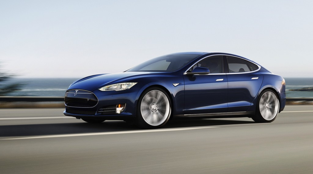 Sex appeal: Tesla's sleek all-electric Model S. PHOTO Tesla Australia