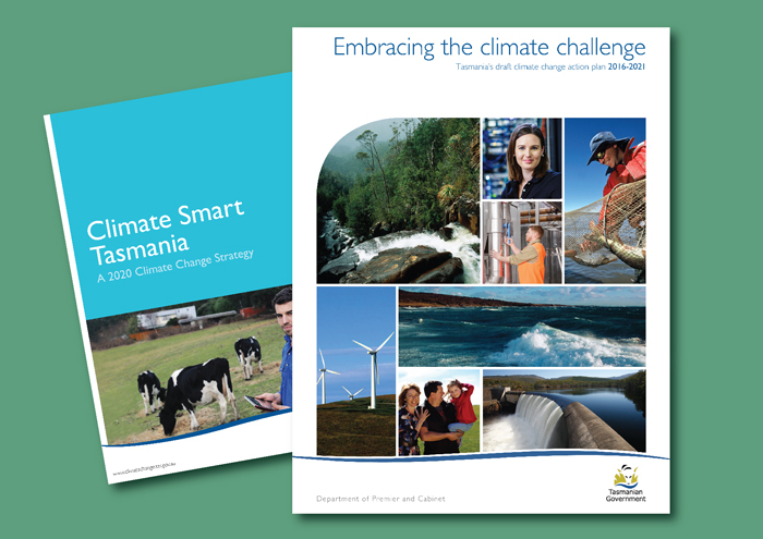 The new Tasmanian climate plan, with its predecessor