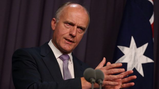 Senator Eric Abetz. PHOTO Andrew Meares, Sydney Morning Herald
