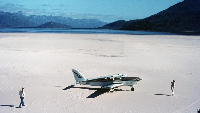 Lake Pedder, February 1972, about a year before it was flooded. PHOTO Chris Eden/Mercury