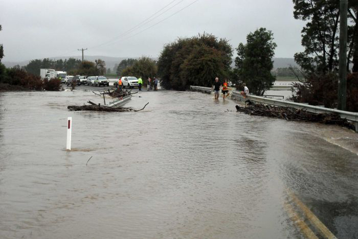 Local government must bear the brunt of damage from weather events. PHOTO ABC News