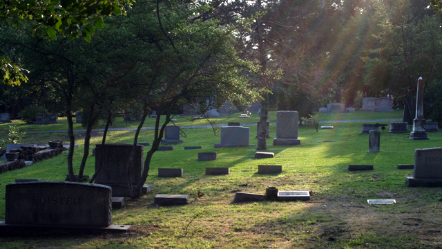 Death happens to us all – but how will we get there? PHOTO Australasian Cemeteries and Crematoria Association