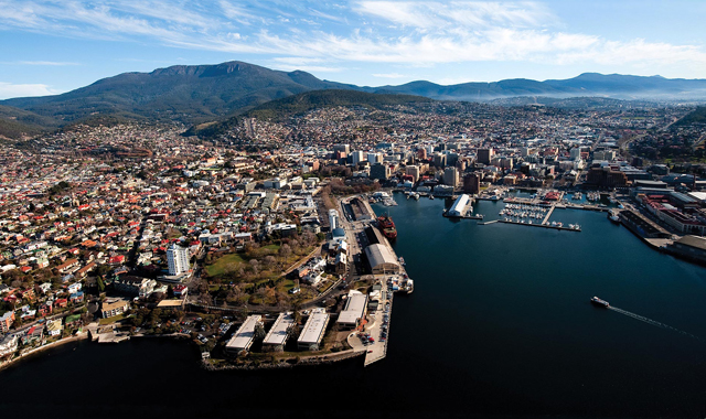 Hobart has huge potential to cut emissions, but it could do with support from the state government.
