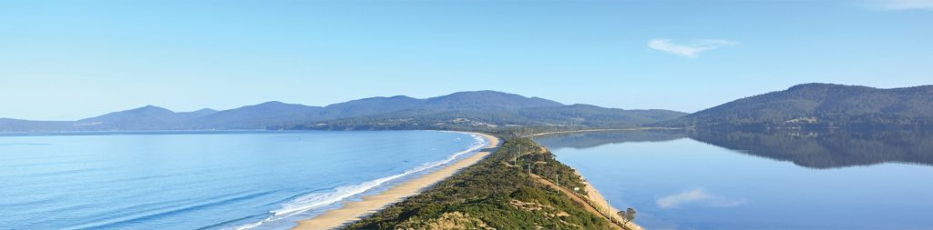 South Bruny from the Neck. PHOTO Discover Tasmania