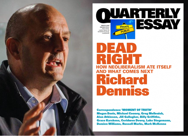 Richard Denniss and his new Quarterly Essay